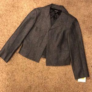 Ellen Tracy Indigo Denim Jacket